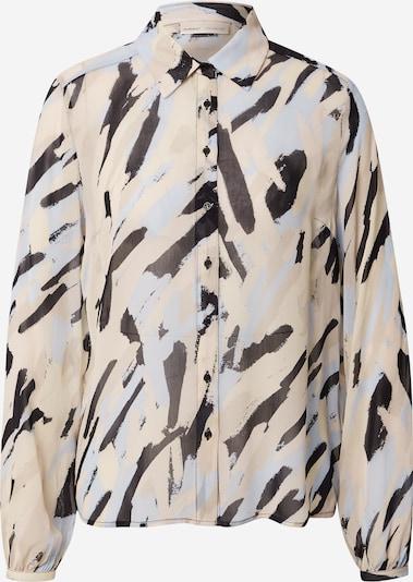 Camicia da donna 'Florizza' InWear di colore beige / blu chiaro / nero, Visualizzazione prodotti