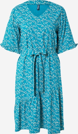 Tranquillo Robe 'S21E03' en turquoise / bleu clair / blanc, Vue avec produit