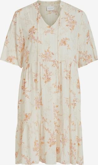 VILA Kleid in honig / goldgelb / apricot, Produktansicht
