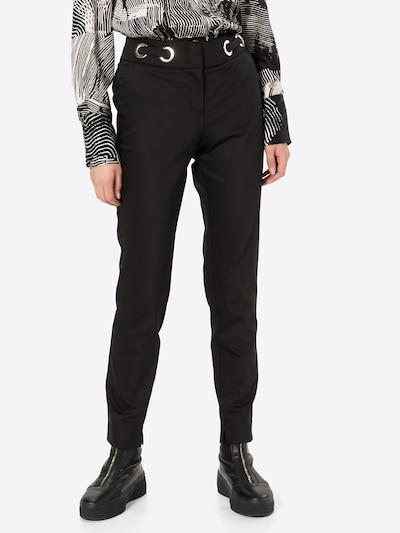 COMMA Hose in schwarz, Modelansicht
