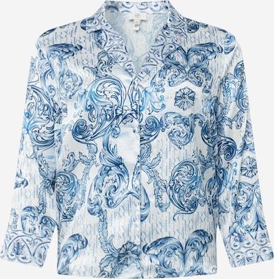 River Island Plus Pidžamas krekls zils / debeszils / balts, Preces skats