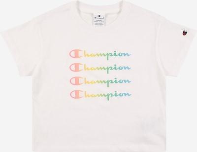 Champion Authentic Athletic Apparel T-Shirt in hellblau / hellgrün / orange / lachs / offwhite, Produktansicht