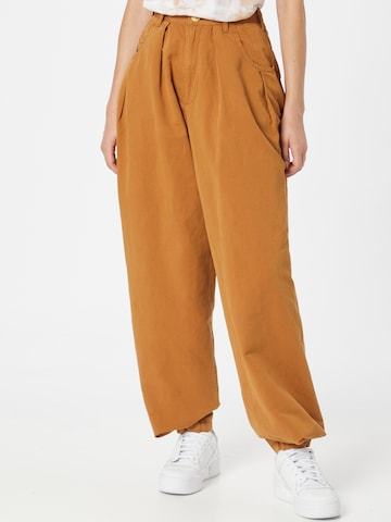DIESEL Trousers 'CONCIAS' in Yellow