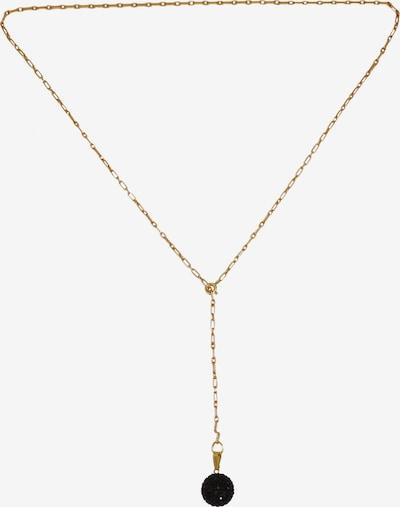 Matica Jewellery Chaîne en or / noir, Vue avec produit