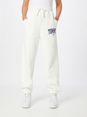 Tommy Jeans Nohavice 'ABO' - biela