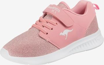 KangaROOS Sportschuh 'KL HINU EV' in Pink