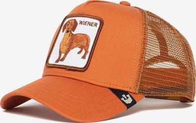 GOORIN Bros. Cap 'Wiener Dawg' in dunkelbraun / gold / dunkelorange / schwarz / weiß, Produktansicht
