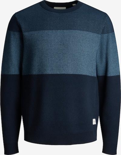 JACK & JONES Sweter 'JUSTIN' w kolorze granatowy / ciemny niebieskim, Podgląd produktu