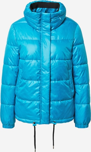 TAIFUN Winterjas in de kleur Neonblauw, Productweergave