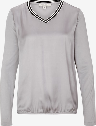 Ci comma casual identity Shirt in grau / silber, Produktansicht