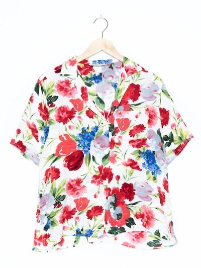 Georges Rech Blumenbluse in L in weiß, Produktansicht