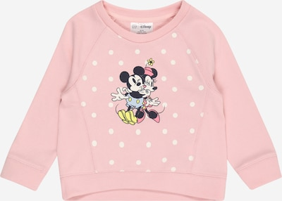 GAP Sweat-shirt en jaune / rose / noir / blanc, Vue avec produit
