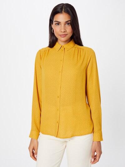 SELECTED FEMME Bluse 'DYNELLA' in gelb / weiß, Modelansicht