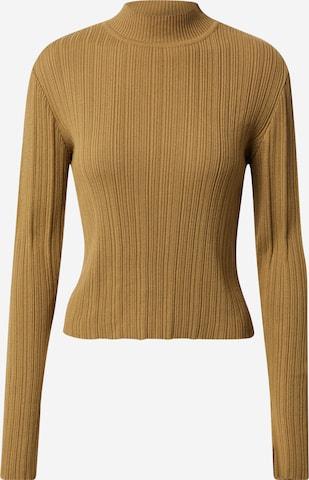 A LOT LESS Sweater 'Tia' in Green
