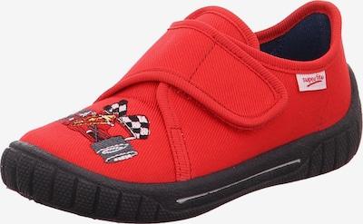 SUPERFIT Zapatillas de casa en rojo, Vista del producto