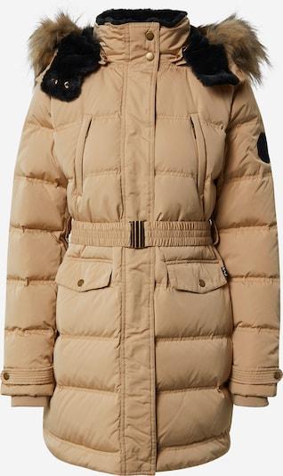 Pepe Jeans Zimski plašč 'Moli' | kremna / črna barva, Prikaz izdelka