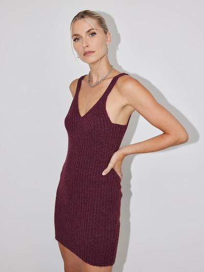 LeGer by Lena Gercke Kleid 'Desiree' in bordeaux, Modelansicht