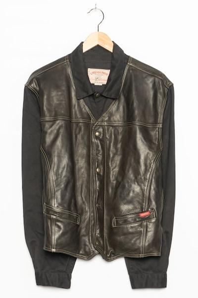 Chevignon Lederjacke in M in schwarz, Produktansicht