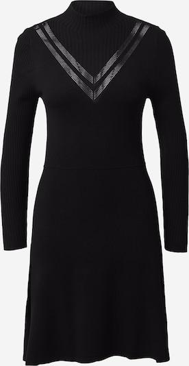 ONLY Stickad klänning i svart, Produktvy