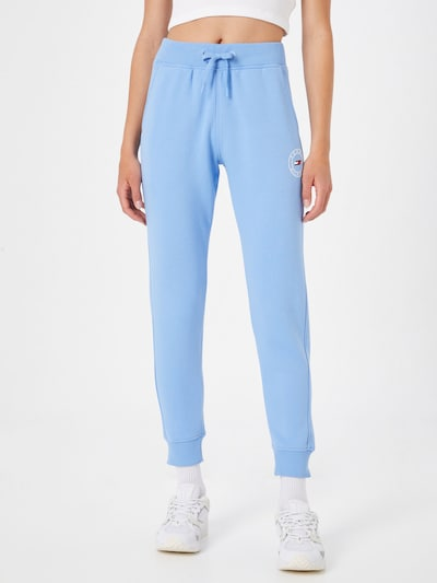 Pantaloni sport Tommy Sport pe albastru: Privire frontală