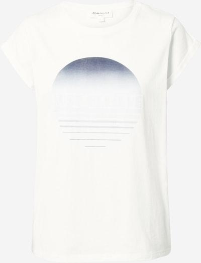Maison 123 T-Shirt 'INNOCENT' in ecru / marine / pastellblau: Frontalansicht
