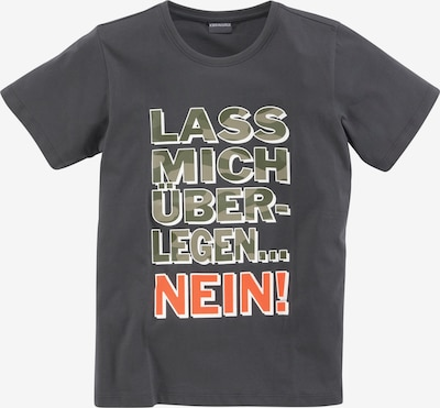 Kidsworld T-Shirt in grau / grün / orange, Produktansicht