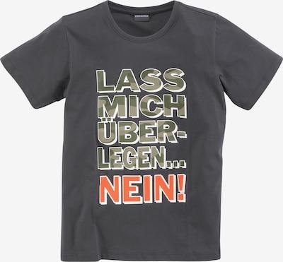 Kidsworld T-Shirt in grau / grün / orange, Produktansicht
