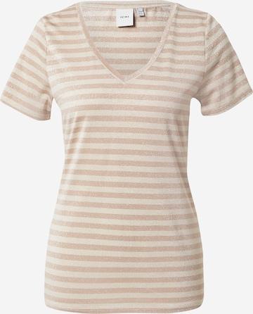 ICHI T-Shirt in Beige