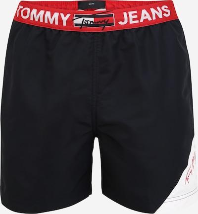 Tommy Hilfiger Underwear Bermudas en navy / rojo fuego / blanco, Vista del producto