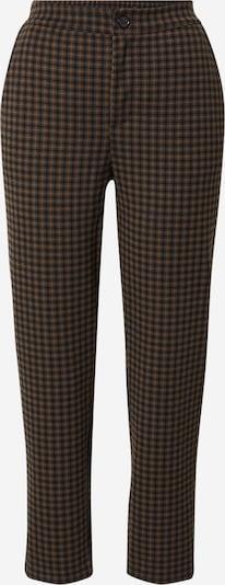 Pantaloni Part Two pe maro caramel / maro închis / gri închis, Vizualizare produs