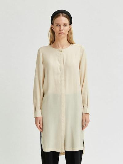 SELECTED FEMME Tunique en crème, Vue avec modèle