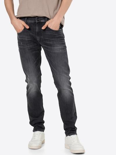 REPLAY Jeans 'ANBASS' in dunkelgrau, Modelansicht