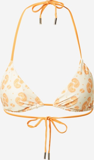 BeckSöndergaard Bikinitop 'Celesta' in de kleur Beige / Sinaasappel, Productweergave