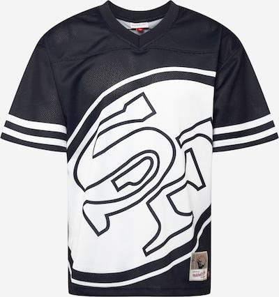 Mitchell & Ness T-Shirt 'BIG FACE 3.0' in schwarz / weiß, Produktansicht