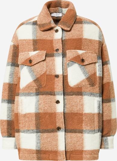 Rich & Royal Jacke in hellbraun / graumeliert / weiß, Produktansicht