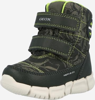GEOX Saabas 'B FLEXYPER B.B ABX C', värv roheline