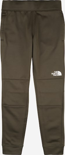 THE NORTH FACE Sport-Hose in oliv / weiß, Produktansicht