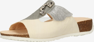 THINK! Pantolette in beige / grau / silber, Produktansicht