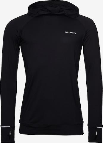 T-Shirt fonctionnel Superdry en noir