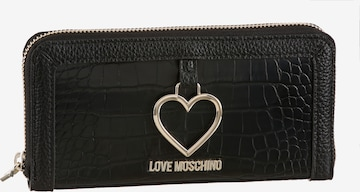 Love Moschino Wallet in Black