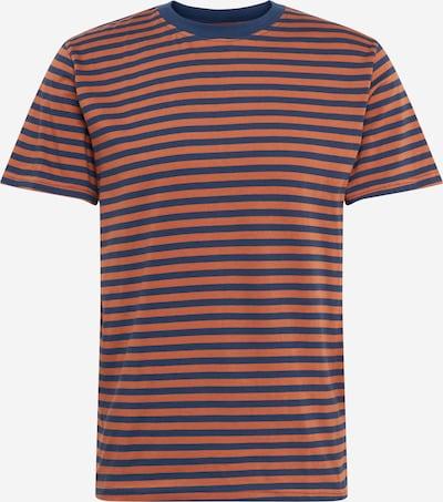 DEDICATED. Majica 'Stockholm' u mornarsko plava / hrđavo smeđa, Pregled proizvoda