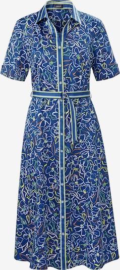 Basler Blusenkleid 'Grace' in kobaltblau / grün / orange / weiß, Produktansicht
