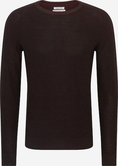 TOM TAILOR Pulover | temno rjava barva, Prikaz izdelka