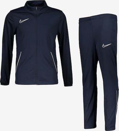 NIKE Trainingsanzug in navy / weiß, Produktansicht