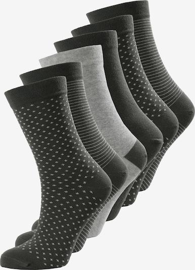 SCHIESSER Chaussettes ' Mix ' en gris, Vue avec produit