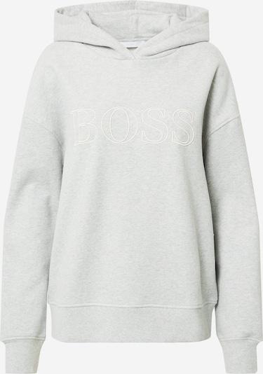 BOSS Casual Sweat-shirt 'C_Efessa' en beige / gris chiné, Vue avec produit