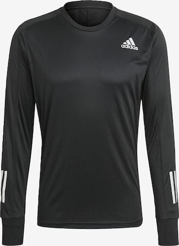 ADIDAS PERFORMANCE Performance Shirt 'Own the Run' in Black