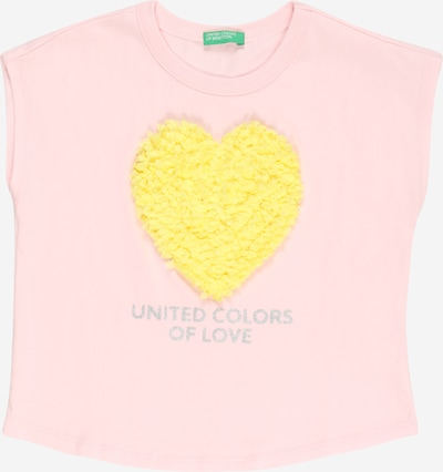 UNITED COLORS OF BENETTON Camiseta en amarillo / rosa, Vista del producto