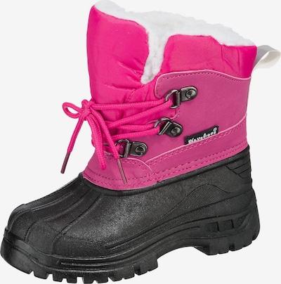 PLAYSHOES Winterstiefel in pink / schwarz, Produktansicht