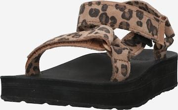 TEVA Sandale in Braun